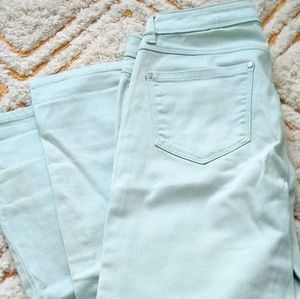 ♥️ 2 for $24 LC Mint Colored Skinny jeans